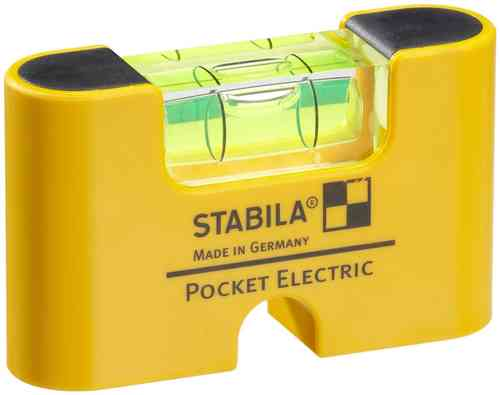 Nivel de burbuja Pocket Electric de STABILA